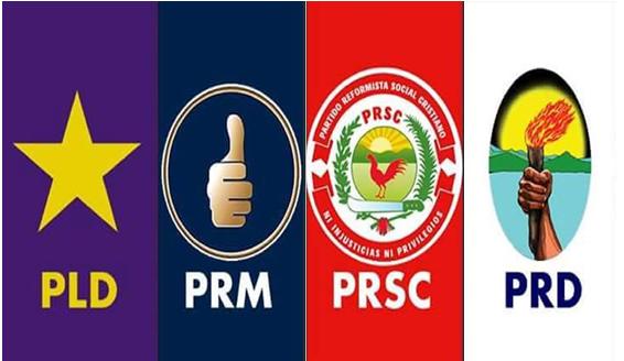 Resultado de imagen para partidos políticos de la república dominicana
